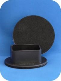 45mm Twin Wheel Non Slip - SET OF 4
