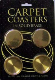 Solid Brass Coasters